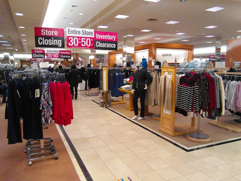 Macys clothing store