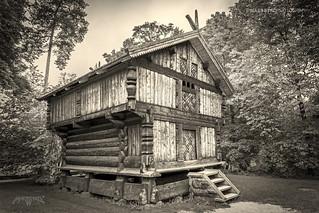 Oslo, Norway 0083 - Viking House, Sepia