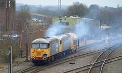 Smokey Grids (Oz_97) Tags: ukrl railoperationsgroup britishrail 56104 56098