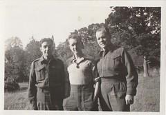 B. Laforte , Pete Maye, Almer Raine (Ed Rudnicki Maye) Tags: ww2 wwii ww2vet canadaww2 worldwartwo canada canadian charles cmmaye canadianforces cm canadianarmy canadianmilitary canadiansoldier royalcanadianarmyservicecorps rcasc rudnicki royalcanadianlegionbranch15 military murray mayecharlesmurray margaret england muriel murielmaye 1942 1943 1944 1945 b laforte almerranine wararchiver history canadawarhistory ww2photos ww2canadapics ww2canadians