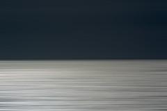 Dark sky and light sea (Jan van der Wolf) Tags: map143490vv abstract sea seascape blur light licht dark darkandlight clouds wolken horizon landscape landschap line lijn minimalism minimal motionblur photoshop