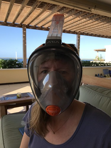 Julie Getting Ready For Snorkeling!