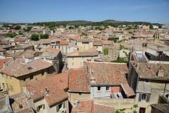 0685-20160521_Salon de Provence-Bouches du Rhone-France-Chateau de l'Emperi-view from Castle walls NEwards across City (Nick Kaye) Tags: salondeprovence bouchesdurhone france europe city castle house museum