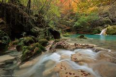 Autumn flow (Hector Prada) Tags: otoño rio agua hojas sedas musgo naturaleza autumn river water waterfall moss