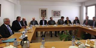 Ο Υπουργός Δικαιοσύνης και Δημοσίας Τάξεως συναντήθηκε με εκπροσώπους της Επιτροπής Αιτημάτων και Παραπόνων του Κοινοβουλίου της Βαυαρίας