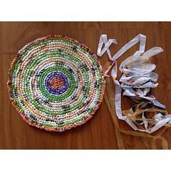 Tejiendo a #crochet bolsas plásticas ♻️ (Crea en verde) Tags: handmade crochet knitted recycle ecofriendly reuse crocheting tejido reciclado freepattern upcycling patterncrochet creaenverde