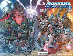 Masters of the Universe 1, cover B (J. Scott Campbell), wraparound cover (FranMoff) Tags: comicbooks campbell mastersoftheuniverse jscottcampbell
