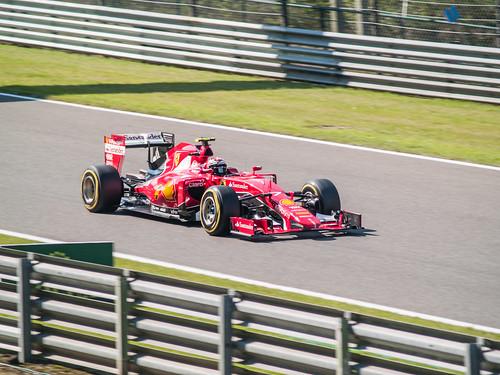 Belgian GP - Scuderia Ferrari - Kimi Raikkonen -