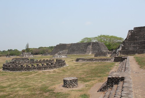 Cempoala, Circle of Gladiators, Great Temple, and Temple of the Chimneys