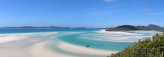 Whitehaven Panorama (Banalfred) Tags: panorama beach strand australia australien whitsunday whithaven