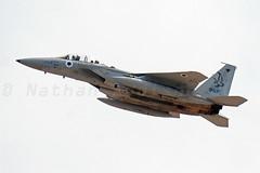 aZDSC_8717 (airattackimages) Tags: las vegas red israel force eagle flag air nevada aerial boeing base israeli raam 154 afb f15 nellis iaf victories f15i