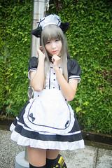 DSC03250 (RamaWangFlickr) Tags: cosplay mai cosplayer coser masako  vivitar28902835 sonya7  ff26day1 vivitar28902535