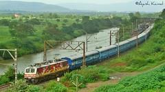 Pune - Indore Express (AyushKamal2014) Tags: kamshet amul 30059 brcwap5 puneindoreexpress