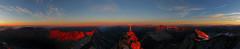 Hochalmspitze 3360m (ernst.weberhofer) Tags: sunrise sonnenaufgang ankogel sonnblick hochalmspitze grosglockner arthurvonschmidhaus groseswiesbachhorn giesenerhütte detmoldergrat