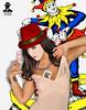 the sexy joker (ADRIANO ART FOR PASSION) Tags: sexy nikon body lingerie fantasy redhat joker jolly samanta modella d90 sensualità cappellorosso cartedagioco playngcards guepiere