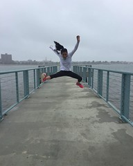 Jump! (SailToBequia) Tags: iphone 2015 13yo