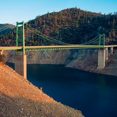 Day 801 [8-29-15]: Taller Each Day (Buuck Photography) Tags: california statepark travel bridge summer foothills mountain lake news green water northerncalifornia square landscape photography dailypic low photojournalism dry canyon reservoir wanderlust hills adventure explore drought record theme series tall recreation norcal dwr sierranevada suspensionbridge dailyphoto photooftheday oroville weeklytheme swp waterlevel 2015 buttecounty drastic berrycreek newsworthy statewaterproject project365 bidwellbarbridge lakeoroville hwy162 staterecreationarea photoadaychallenge departmentofwaterresources 95966 vsco exposedshoreline tubline lakeorovillestaterecreationarea catastropic vscofilm buuckphotos buuckphotography shotonsonyrx100 200ftbelowfullcapacity oroquincyhwy