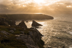 Isle of Lewis (Heather_K_Jones) Tags: ocean uk travel sea sky tourism nature water landscape coast scotland scenery unitedkingdom tide scenic wave bluesky shore westernisles touristattraction isleoflewis hebrides travelphotography northatlanticocean eileansiar