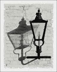 light ancient & modern (vernon.hyde) Tags: lamp lantern outdoorlight outsidelight wallmountedlight