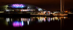 PS Waverley after the Last Cruise of 2015 (Russardo) Tags: cruise night last river scotland clyde glasgow centre ps science after waverley 2015