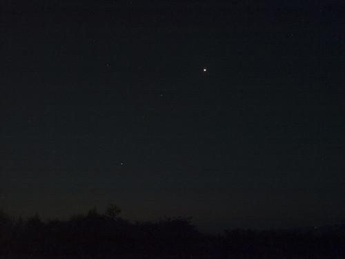 Venus, Mars, Jupiter & Regulus