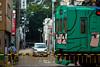 Railroad crossing (gasdust) Tags: street old railroad town crossing sony mie 135mm iga carlzeiss ソニー a99 sal135f18za slta99v