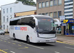 BK14 LDZ. (curly42) Tags: travel bus coach transport gloucester londonroad nationalexpress bennetts volvob9r caetanolevante2 bk14ldz