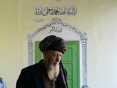 Sufi at the Door, Kabul, Afghanistan