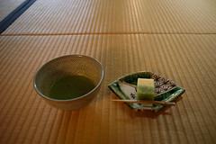 20150926 Jozan-en 5 (BONGURI) Tags: autumn evening nikon df cosina jp   greentea  aichi  anjo     japanesetea japanesecake    ishikawajozan jozanen  voigtlndercolorskopar28mmf28sl2naspherical japanesepowderedtea