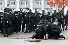 Rostock_ AfD-Demo & Gegenproteste 21 (endstationrechts) Tags: rostock hilft afd nazifrei