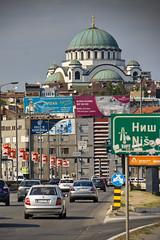 Approaching Belgrade Center (operativo) Tags: church serbia belgrade orthodox saintsava
