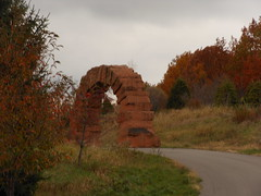 Grand Rapids Arch (melter) Tags: sculpture sandstone michigan meijergardens frederikmeijergardens andygoldsworthy