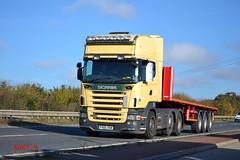 Scania R470 reg FH05 OSM (erfmike51) Tags: lorry artic flatbedtrailer scaniar470
