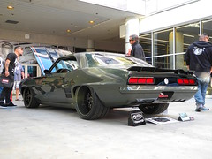 """T-Rex"" Camaro on Forgeline SP3P Wheels at the 2015 SEMA Show (Forgeline Motorsports) Tags: chevrolet camaro chevy sema forged madeinusa semashow forgeline forgelinewheels sp3p notjustanotherprettywheel sema2015"