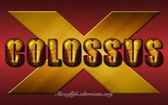 Colossus (X-Men) (blindsuperhero) Tags: wallpaper costume text xmen dccomics superheroes marvel effect colossus backgroud