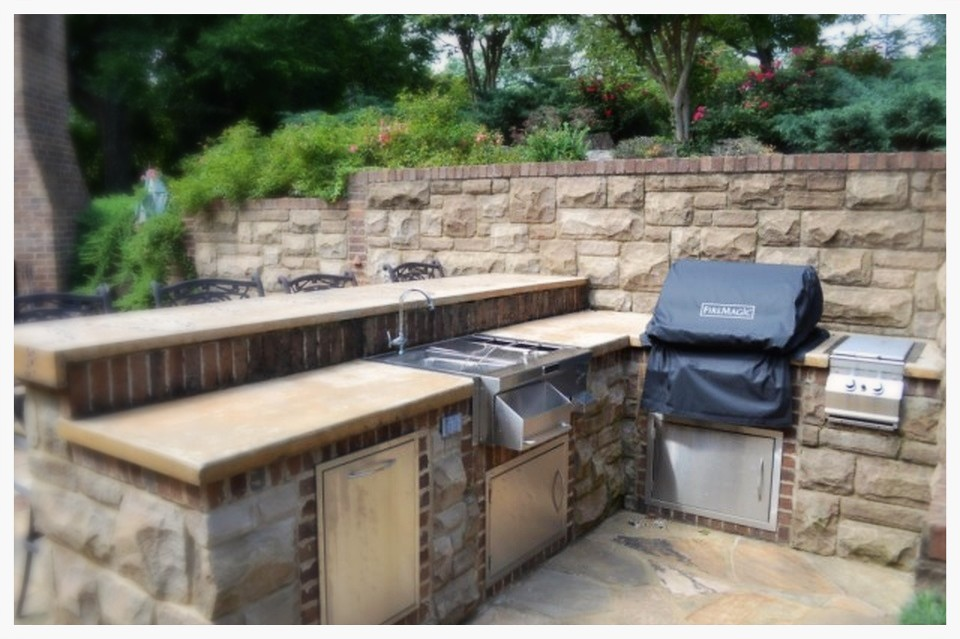 Custom Fire Magic Outdoor Kitchen. Chattanooga, Tn.