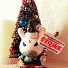santa unfair (Luckykatt) Tags: kidrobot elf angry strike urbanvinyltoy kozik dunny luckykatt