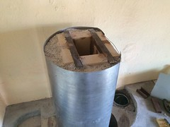 RMH0061 (velacreations) Tags: rmh woodburningstove rocketmassheater