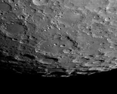 Clavius (Waskogm) Tags: moon solar satellite serbia system craters telescope astrophotography lunar sistem srbija teleskop maksutov gornji satelit skywatcher mesec milanovac astrofotografija ristovic vasilije suncev asi120mm waskogm vaskogm