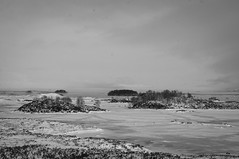 Bleak Rannoch Moor (Brian Travelling) Tags: rannochmoor bleak weather snow ice mono mountains scotland scenery minimalism minimal minimallandscape landscape pentaxkr pentax pentaxdal peaceful