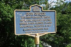 Bow Bridge (jschumacher) Tags: newyorkstate upstate adirondacks bowbridge sacandagariver historicalmarker