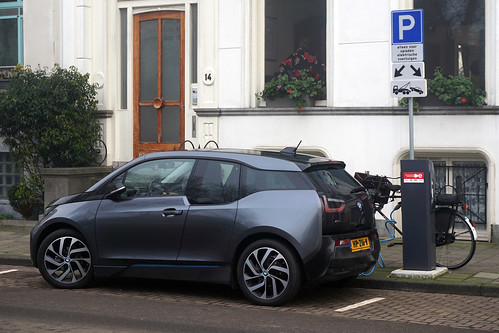 bmwi3 pluginelectricvehiclesinamsterdam