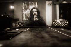 Game over.... (Marcin Krawczyk) Tags: blackwhite women marcinkrawczyk d800 nikkor2470 wife sad gameover game blackandwhite