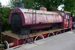 Wheldale - NCB S 134 saddle tank locomotive (pluralzed) Tags: railway midlandrailway boltonabbey heritagerailway preservedraillway railwaystation northyorkshire loco locomotive steamengine boltonabbeystation tankengine saddletank wheldale ncb s134