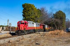 Last GNRR Train of the Year (Kyle Yunker) Tags: georgia northeastern railroad gnrr gp38 emd train