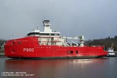 L'ASTROLABE (9797539) (011-05.01.2017) (HWDKI) Tags: l'astrolabe imo 9797539 schiff ship vessel hanswilhelmdelfs delfs kiel nordostseekanal kielcanal nok sehestedt rendsburg eisbrecher icebreaker p800 french navy marine