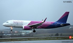 HA-LYQ AIRBUS A320-232 (douglasbuick) Tags: aircraft airbus a320232 halyq jet plane wizzair hungary egpf glasgow airport aviation scotland flickr airliner airlines airways nikon d3300