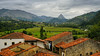 El Mazo (TanzPanorama) Tags: village mountains valley house roof red scenery scenic spain espana europe cantabria picosdeeuropa picos mountainrange tanzpanorama sonya7ii sonyilce7m2 sony fe2470mmf4zaoss sel2470z pueblo elmazo landscape countryside rural