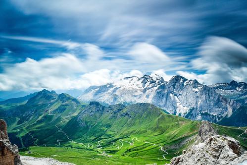 Marmolada, Dolomites