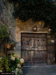 La porta dei sogni (frillicca) Tags: 2016 agosto ancient antico august bolsena door lazio legno medieval medievale night notte panasoniclumixlx100 portone tuscia wood